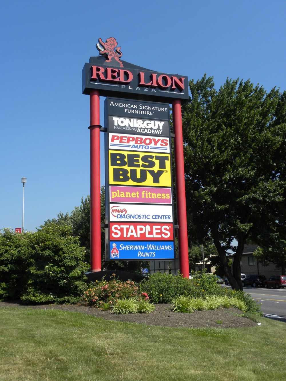 Multi Tenant Pylon Amp Shopping Center Signs Forman Signs