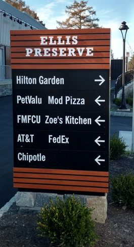 Custom Outdoor Monument Signs Forman Signs
